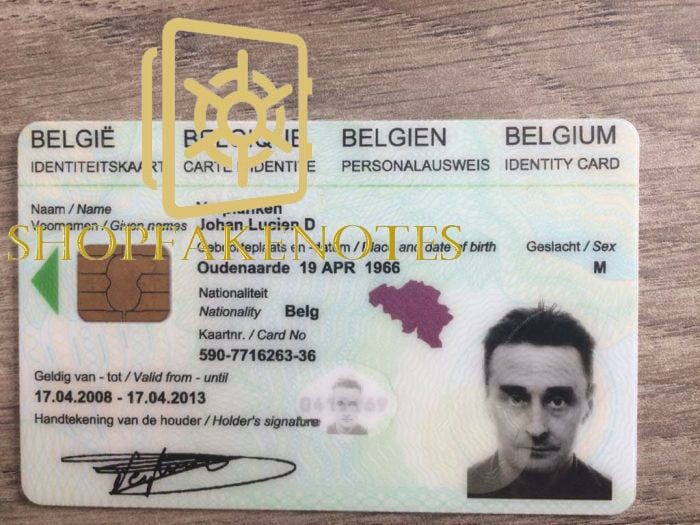 Europe Fake ID Cards for Sale