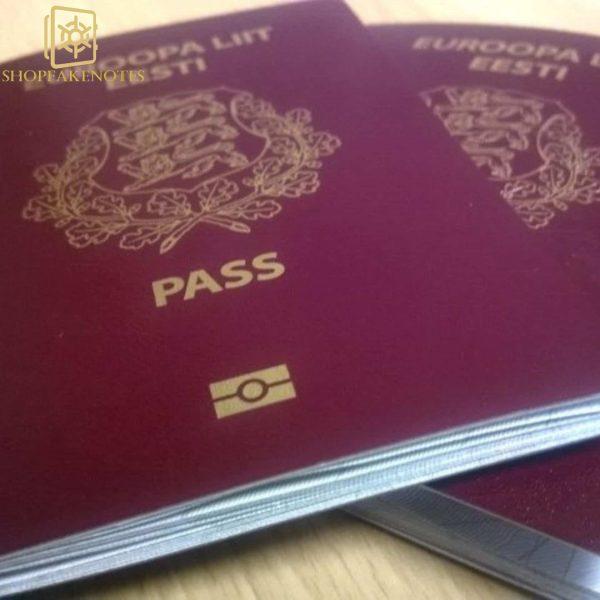buy fake estonian passport online