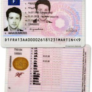 chercher où acheter le permis de conduire français