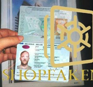 Differences between Real and  fake passports