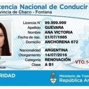 Buy Argentina Drivers License