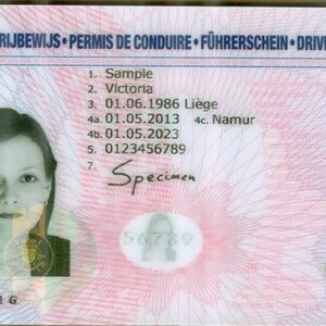 Buy Belgian Drivers License