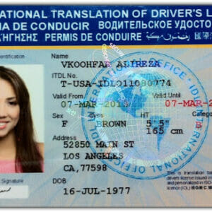 Buy International Drivers License