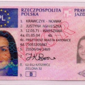Buy Polish Drivers license