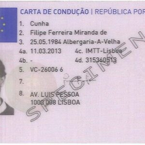 Buy Portuguese Driving License