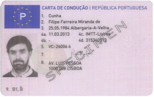 Buy Portuguese Driving License