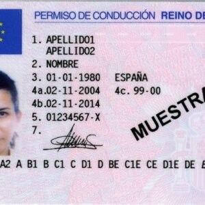 Buy Spanish Drivers License