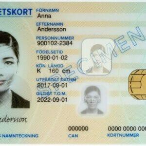 Buy Swedish Identity Cards
