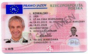 buy fake polish driver's license online